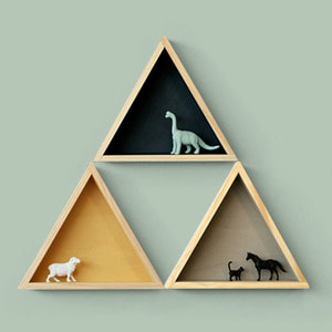 [P][WOODSTUDIO ALP] 삼각형선반 TRIANGLE SHELF-3컬러