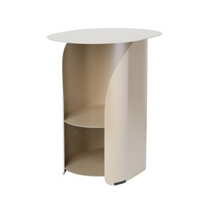 [bmotto] 커브사이드테이블  Curve side table_champagne gold